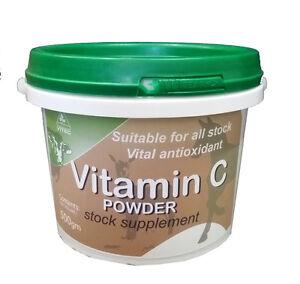 Vitec Vitamin C 500gm (Sodium Ascorbate) Animal Health