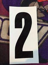 Go Kart - Number #2 - White Background - Large - NEW
