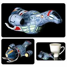 "Firefly Licensed Official 6"" Deluxe Mini Serenity Space Ship Plush Toy Shiny!"