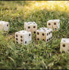 BIG ROLLER WOODEN LAWN DICE (as)
