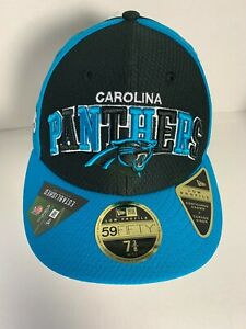 New Era 59FIFTY Carolina Panthers NFL OnField Fitted Cap Hat Men's Size 7 3/8
