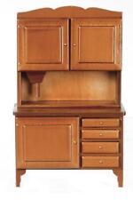 Dolls House Walnut Flour Bin Bakers Dresser Hoosier 1:12 Kitchen