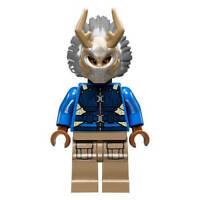 LEGO Marvel Super Heroes KILLMONGER Blue Minifigure - Split from 76100 (Bagged)