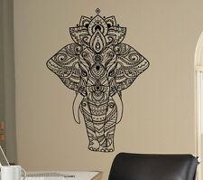 Indian Elephant Vinyl Decal Indian Patterns Vinyl Stickers Art Home Interior 22