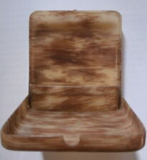 Vintage Plastic Folding Case (Celluloid?) Patterned