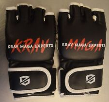 Krav Maga Experts - Strike Gloves - Black Size Small New