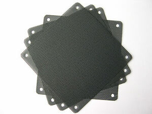 eXXtreme CPU 120mm Nylon Dust Filters - Black - 4 Pack
