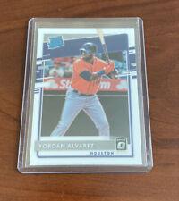 2020 Donruss Optic Yordan Alvarez RC Rookie Base #45 MINT 💎 Houston Astros