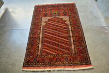 COLLECTORS' PIECE Stunning Central Asian Very High Quality Tribal Prayer Rug