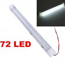 72LED 12V Car Interior White Strip Lights Bar Lamp Van Caravan ON OFF Switch JR