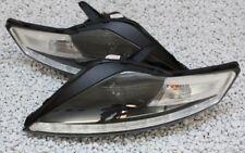 SCHEINWERFER SET FORD MONDEO MK4 TAGFAHRLICHT TFL-LOOK SCHWARZ BLACK TÜV-FREI