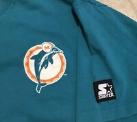 1990s Starter Original Miami Dolphins Vintage T Shirt Size XL NFL Collectible