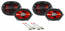 "1999-2003 Ford F-150 Boss 5x7"" Front+Rear Factory Speaker Replacement Kit"