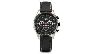 Originale BMW Cronografo Cinturino IN Pelle Orologio da Polso 80262467631