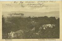 Alte Ansichtskarte Postkarte Saarbrücken 1917 Krankenhaus Feldpost gelaufen