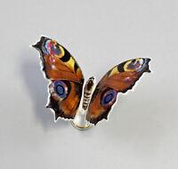 9944139 Porzellan Figur Schmetterling Pfauenauge Kämmer 8x5x6cm
