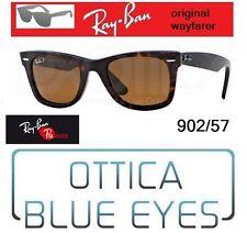 Occhiali da Sole RAYBAN ORIGINAL WAYFARER RB 2140 902/57 Polar Ray Ban Sunglasse