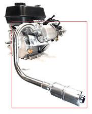 Exhaust With Muffler for: Predator 212cc,Honda GX160, GX200, DuroMax 7 Hp...