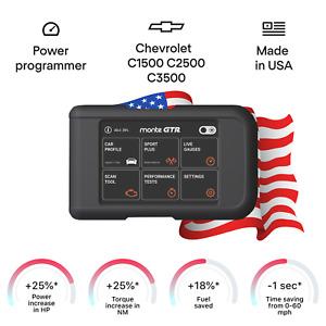 Chevrolet C1500 C2500 C3500 tuning chip power programmer performance  tuner OBD2