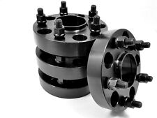 4 Pc 06-10 Jeep Commander BLACK HUB CENTRIC WHEEL SPACERS 2.00 Inch # 5500EHCB