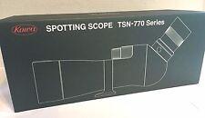 """New KOWA Prominar TSN-773  XD 3""""/77mm Spotting Scope w/o Eyepiece - Angled Type"""