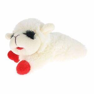 Lamb Chop Pet Squeaker Multipet Plush Dog Toy Adorable Cuddle Chew & Play Fetch