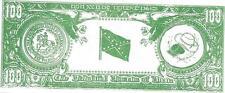 George Wallace 100 Dixie Bucks - Csa Seal & Csa Flag -1972 Presidential Campaign