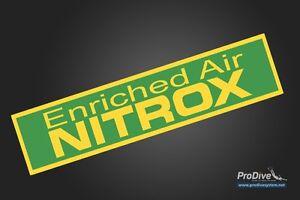 Scuba Diving PonyTank Nitrox Only Sticker Decal Sticker