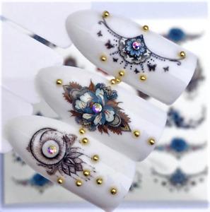 3D Nail Art Rhinestone Small Irregular Bead Manicure Nail Decoration Accessories