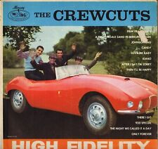 """THE CREW CUTS """"FRIM FRAM SAUCE"""" VOCAL GROUP LP 1962 WING MGW 12177 poch. auto !"""
