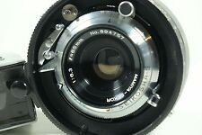 65mm f6.3 Lens for Mamiya Press/Universal/Super23 WITH FINDER