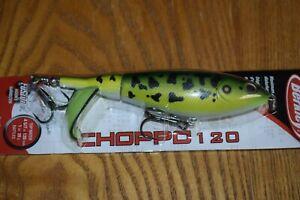 Berkley Choppo 120 Topwater Fishing Lure  (MF Frog) NIP