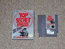 Golgo 13: Top Secret Episode Nintendo NES with Box