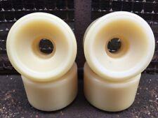 Schmitt Stix Skateboard Wheels Blank White 58mm 97A Vintage NOS