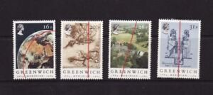 MINT 1984 GB GREENWICH MERIDIAN STAMP SET OF 4