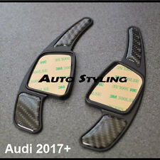 New 2017+ Carbon Fibre Paddle Shift Extensions for Audi Steering Wheel Shifter