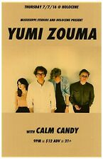 Yumi Zouma 2016 Gig Poster Portland Oregon Concert