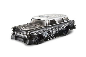 Chevrolet Nomad 1955 IN Harley-Davidson Design scale 1:64 From Maisto
