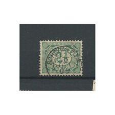 """Nederland  55 """"SCHOORLDAM 1908"""" kleinrond VFU/gebr  CV 12,5 €"""