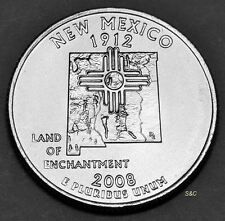 2008 P New Mexico State Quarter Uncirculated Clad United States 50State Quarters