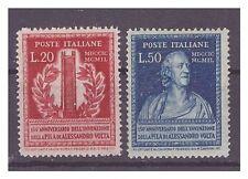 ITALIA  1950 -   VOLTA   SERIE  NUOVA **