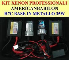 KIT  FARI  XENON 35W  SLIM H7C 6000k CORTA