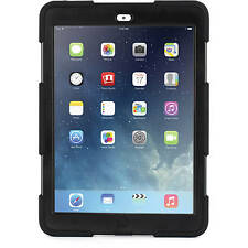 NEW GENUINE GRIFFIN SURVIVOR FOR IPAD AIR HARD CASE COVER & STAND BLACK