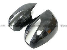 New Rear Side Mirror Cover For Hyundai 08-12 Genesis Rohens Coupe Carbon Fiber