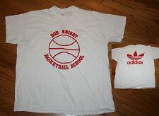 Indiana Hoosiers IU Bob (Bobby) Knight Basketball School Adidas T-Shirt vintage