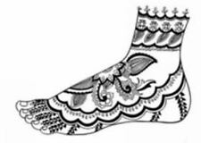Mehndi Designs CD-ROM and Book Dover Electronic Clip Art
