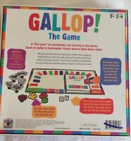 Gallop! The Game Scanimation Book Rufus Butler Seeder Learning Preschoolers