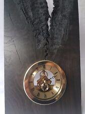 Wooden clock BOG OAK handmade