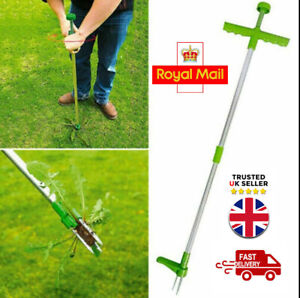 Weed Puller Twister Steel Claw Weed Remover Weeding Root Killer Garden Hand Tool