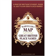 MARVELLOUS MAP OF GREAT BRITISH PLACE NA